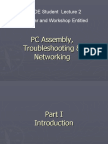 PC Assembly , Troubleshooting & Networking