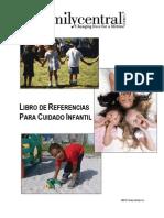 Family Central Broward County Childcare Handbook - Spanish
