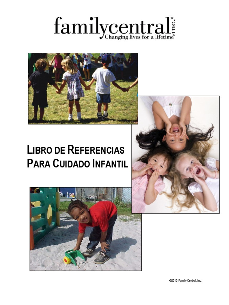 Family Central Broward County Childcare Handbook - Spanish