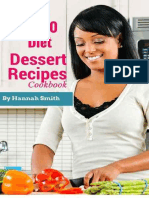 The 2020 Diet Dessert Recipes Cookbook