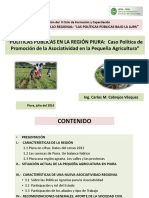 Unidad 1. Conferencia Desarrollo Rural y Mejora de PP Asociatividad. Julio 2014
