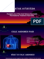Colic abdominal Pain treatment in India
