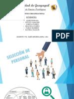 Grupo 7 _curso 8-6_ Seleccion de Personal