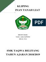 Cover Depan Smk Taqwa