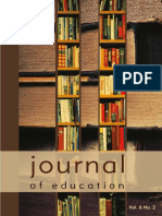 Journal of Education 2011
