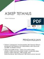 askep tetanus.pptx