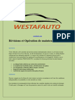 Revisions Et Operation de Maintenance - Westafauto