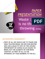 Pawa Point Papd Prsntation