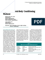 Eight-Week Total-Body Conditioning Workout
