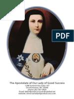 Prayer for the Canonization of Mother Mariana de Jesus Torres