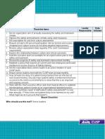 Board Checklist