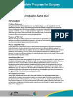 Antibiotic Audit