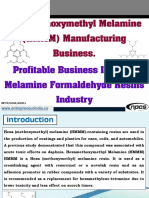 Hexamethoxymethyl Melamine (HMMM) Manufacturing Business