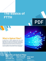 The Basics of FTTH