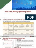 Work Order Delivery Operation GuidanceV1