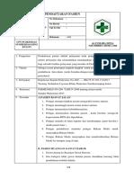 7.1.1.1 SOP Pendaftaran Fix Print 2 x