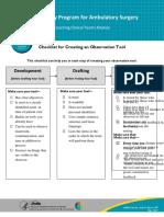 Checklist Creating