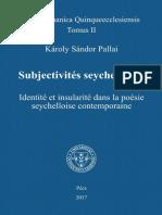 Pallai Károly Sándor Subjectivités seychelloises