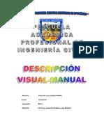descripción visual manual