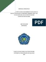Proposal Penelitian Arif Mudassir [Edit Baru]