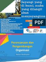 Pengembangan Dan Perencanaan Organisasi