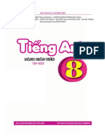 Sách giáo khoa Tiếng Anh 8 tập 1