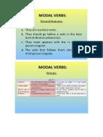 Modal Verbs and Modal Perfect