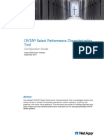 ONTAP Select Performance Characterization Tool