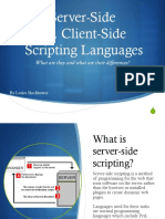Scripting Language Presentation