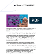 Pengertian Ihsan ~ PENGAJIAN ISLAM