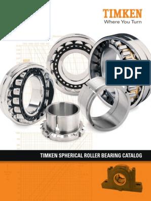 Catálogo de Rolamentos - TIMKEN   Bearing (Mechanical