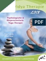 Yoga Vidya Therapie 2018