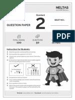 ECAT STD 2 Sample Question Paper