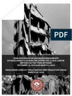 Cizre Investigation and Monitoring Report on Developments During The Round-The-Clock Curfew Imposed on The Town Between December 14, 2015 and March 2, 2016