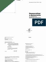 DEMOCRATIZAR A DEMOCRACIA.pdf