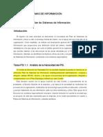 PLAN DE SISTEMAS DE INFORMACIÓN (ejemplo de internet)