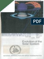 Evolution of solar system