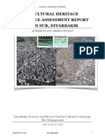 Cultural Heritage Damage Assessment Report on Sur, Diyarbakır Aftermath of the Armed Conflict -1