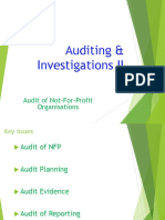 11. AC414 - Audit and Investigations II - Audit of No-For-Profit Organisations -NFP
