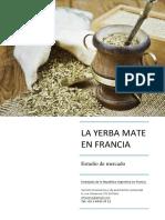 Estudio de Mercado - La Yerba Mate en Francia 2016