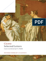 Cicero, P. G. Walsh Cicero Selected Letters 2008