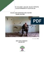 HDP Derik Raporu (26 Kasım-3 Aralık 2015)