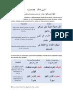 Lección 30 Gramatica Arabe