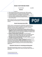 Increase Your Punching _power Footer PDF