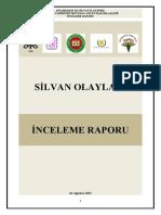 Silvan Olayları İnceleme Raporu (18 Ağustos 2015)