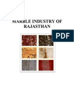 Marble Industry of Rajasthan