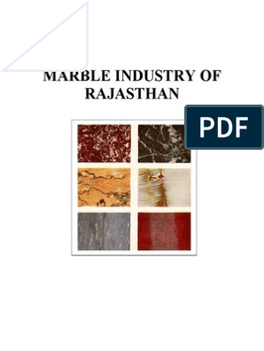 Marble Industry of Rajasthan | World Trade Organization | Mining