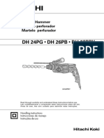 3. Martillo Perforador DH 26PB