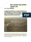 ARGENTINA-Bases Militaresy Renta Para Las Petroleras