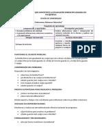 Ejemplo de Evaluación Formativa